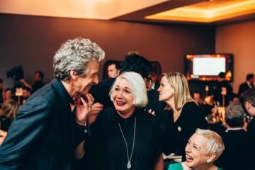 Peter Capaldi, Christine Cant & Elaine Collins