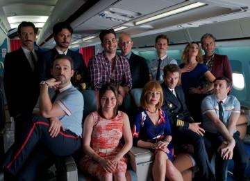 The cast of I'm So Excited (2013). ©Paola Ardizzoni & Emilio Pereda