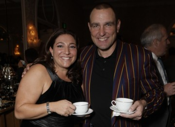 Jo Frost (Supernanny) and Vinnie Jones