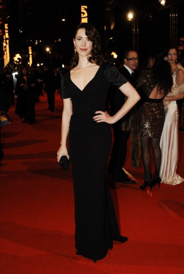 Star of Dorian Gray and last year's Frost/Nixon, Rebecca Hall (BAFTA/Richard Kendal).