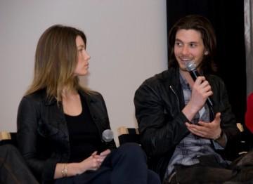 Jessica Biel and Ben Barnes