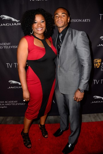 Actors Adrienne C. Moore & Jerry Ford