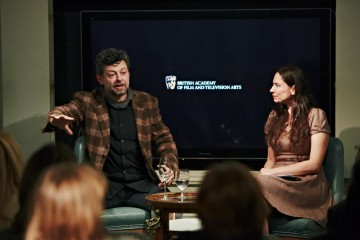 Academy Circle event with Andy Serkis. Fortnum & Mason, December 2014 (Photo credit: BAFTA/Jonathan Birch)