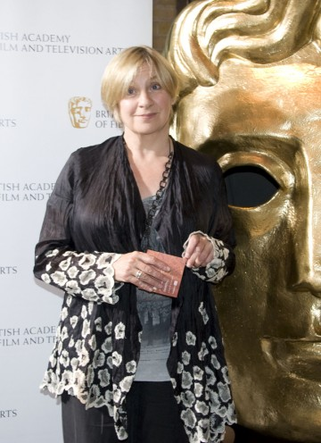 The BAFTA-winning writer/actress was an exec producer on Eric & Ernie, which she also starred in. (Pic: BAFTA/Chris Sharp)