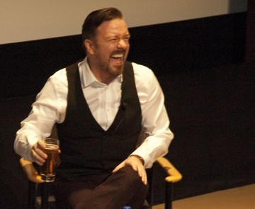 "Q&A with Ricky Gervais about his new HBO series ""Life's Too Short"""