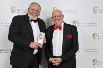 Winner of the Actor/Actress - Film category, James Cosmo