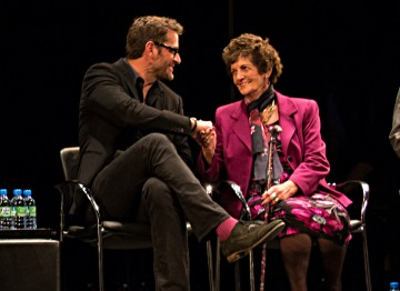 Actor Peter Hermann and Philomena Lee
