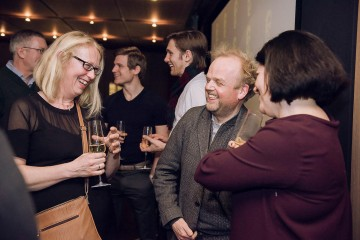 Academy Circle event with Toby Jones, The Club at Cafe Royal, March 2016 (Photo credit: Ricky Darko)