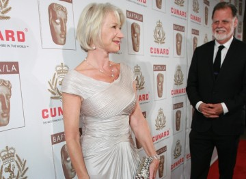 Award presenter Helen Mirren