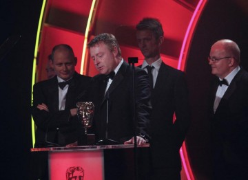 Nail-biting game show The Cube was awarded the BAFTA for Enterainment Craft Team. (Pic: BAFTA/Jamie Simonds)