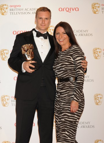 Darren Boyd and Davina McCall
