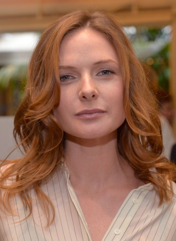 Rebecca Ferguson at the BAFTA LA 2014 Awards Season Tea Party.