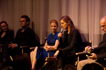 Kathryn Bigelow, Jennifer Ehle, Jessica Chastian, and Jason Clarke