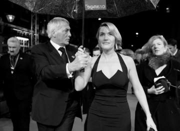 Kate Winslet celebrates her Leading Actress BAFTA for The Reader (Greg Williams / Art+Commerce).