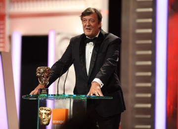 """Some have suggested, sacrilege though it may seem, that the films may be better than the quite brilliantly-voiced audio books,"" said Stephen Fry (Harry Potter audio book narrator) of the successful film series. (Pic: BAFTA/Stephen Butler)"