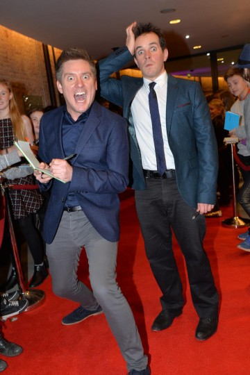 Dick and Dom at the BAFTA Children's Awards 2015 at the Roundhouse on 22 November 2015