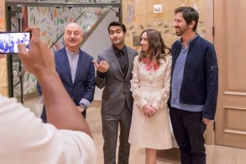 Anupam Kher, Kumail Nanjiani, Zoe Kazan, Ray Romano