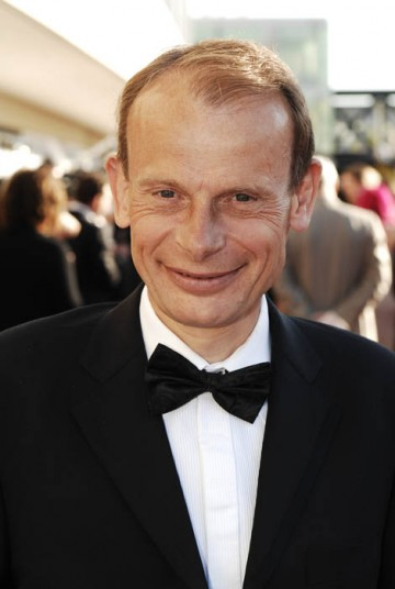 Political correspondent Andrew Marr arrives at Royal Festival Hall for the Television Awards (BAFTA / Richard Kendal).