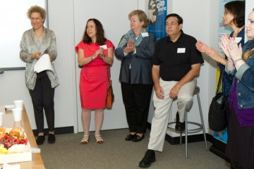 Linda Kahn, Susan Margolin, Eve Levy and Dan Zifkin