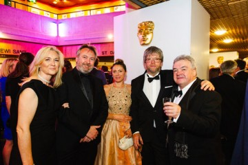 Event: British Academy Cymru AwardsDate: Sunday 13 October 2019Venue: St David's Hall, 9-11 The Hayes, Cardiff Host: Huw Stephens-Area: Champagne Reception