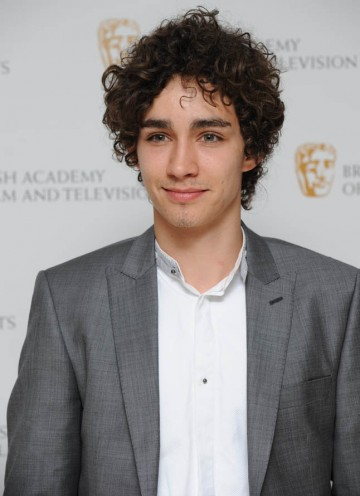 Misfits star Robert Sheehan arrives at the Television Craft Awards to present the Visual Effects BAFTA.