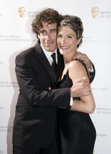Mangan is host for the evening whilst his Episodes and Green Wing co-star Tamsin Greig will present the BAFTA for Writer. (Pic: BAFTA/Chris Sharp)
