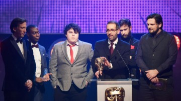 Poetry: Between the Lines collects the BAFTA for Learning - Secondary at the British Academy Children's Awards in 2015
