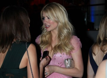 Holly Willoughby at the Television Awards After Party.