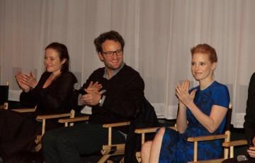 Jennifer Ehle, Jason Clarke and Jessica Chastain