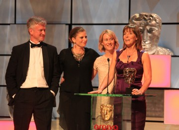 The winning team, including: Justine Kershaw, Kenny Scott, Laura Jones and Gillian Mosely.