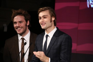 Sam Claflin and Douglas Booth revealed the 2015 Breakthrough Brits