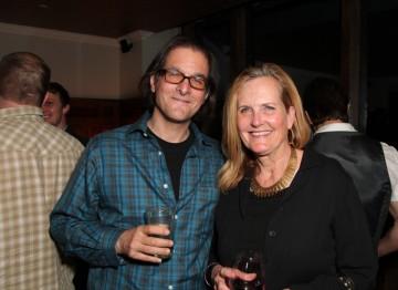 Buddy Giovinazzo and Deborah Kolar