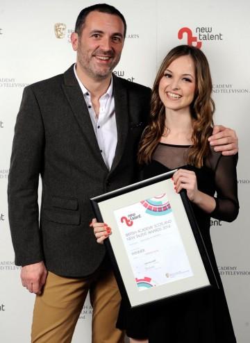 Stuart Fleming, PRS for Music & Jessica Jones winner of Original Music for Hannah