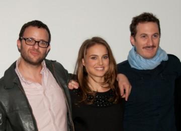 Writer Mark Heyman, Natalie Portman and Director Darren Aronofsky.