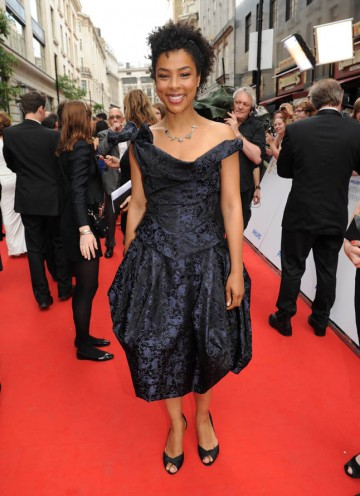 Twice Nominated Sophie Okonedo arrives (BAFTA/Richard Kendal).