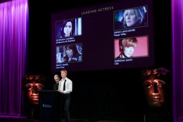Amanda Abbingdon and Freddie Fox announce the nominations for the Leading Actrss Category