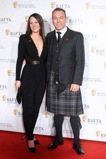 Sir Chris Hoy & Sarra Kemp