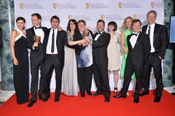 The BAFTA for Reality and Constructed Factual in 2015 was presented by Emma Willis to The Island With Bear Grylls.