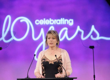 Academy Deputy Chairman Hilary Bevan Jones talked about re-establishing the Craft Awards as a separate ceremony in 2000 (BAFTA / Richard Kendal).