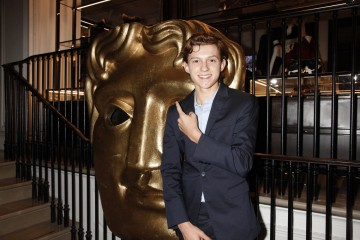 2013 Breakthrough Brit Tom Holland at the first announcement event