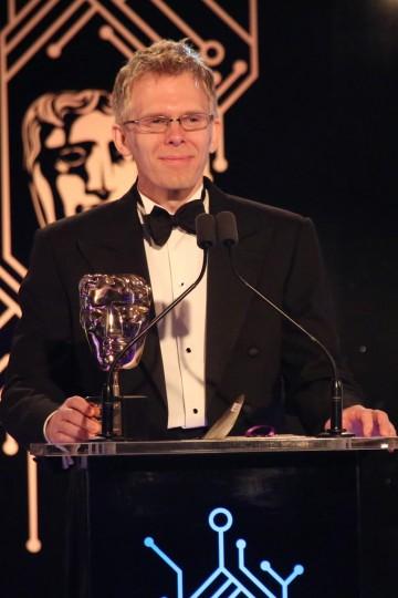 John Carmack collects his Fellowship award