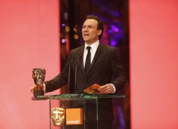 Actor Christian Slater presented the Cinematography category (BAFTA / Marc Hoberman).