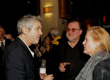 with BAFTA Los Angeles Board Member Deborah Kolar. Behind Closed Doors with Alfonso Cuarón. January 8, 2014.