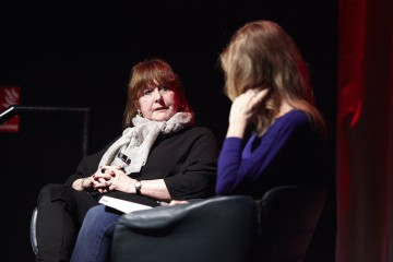 Writers Vivienne Allen and Paula Milne