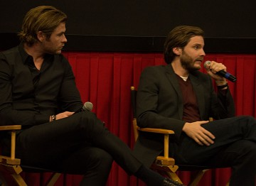 Chris Hemsworth and Daniel Brühl