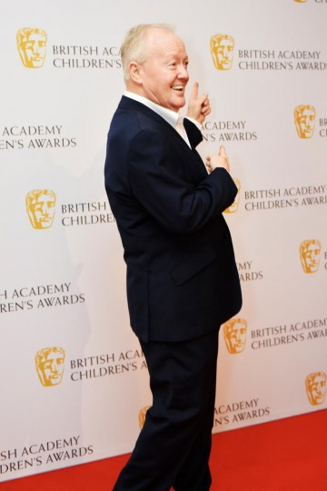 Keith Chegwin at the BAFTA Children's Awards 2015 at the Roundhouse on 22 November 2015