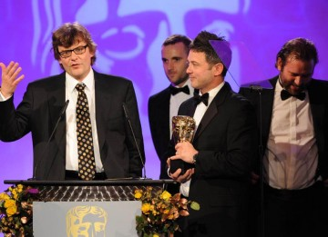 Tom Turnball, Joel Collins and Rene Morel fought off a double nomination from The Mill to claim the Visual Effects Award for their work on BBC One's Day of the Triffids.