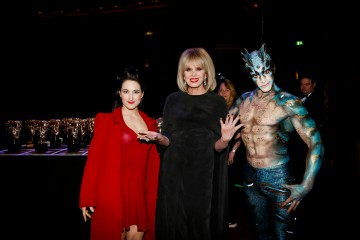 Our fabulous host meets the fabulous tars of Cirque du Soleil's OVO inspired by The Shape Of Water!