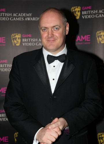 The comedian and avid gamer arrives to host the show for the third year in a row. (Pic: BAFTA/Steve Butler)