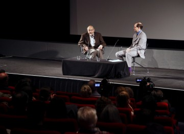 BFI's senior non-fiction curator Patrick Russell interviewed Wolf about his life and career.